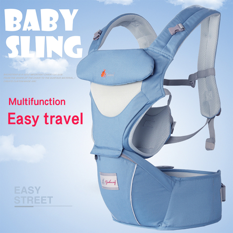 Cotton Baby Strap Four Seasons Baby Sling Multifunctional Breathable Waist Stool Hold Moises Mother And Baby Supplies