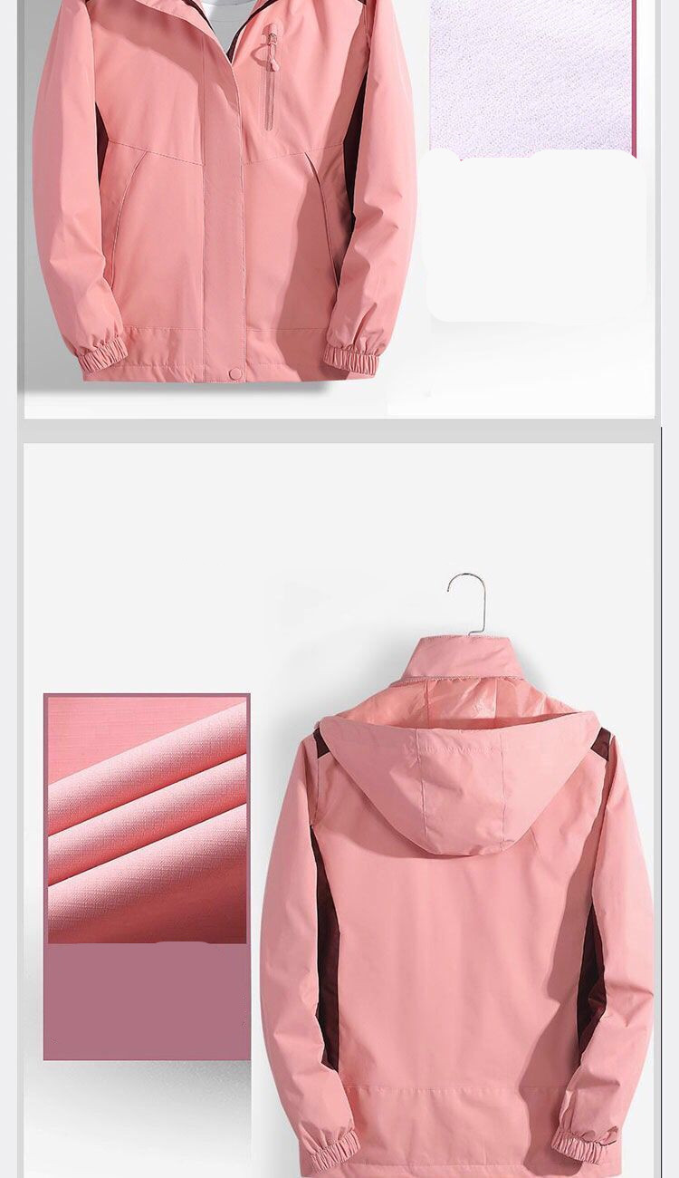 H0f34b918b3814f64976cbad2e2905915S 2019 Brand Jacket Spring Autumn Women Long Jacket Female Casual Pink Coat Bomber Jacket Basic Outwear Loose Wind Coats clothes