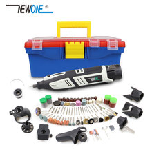 Rotary-Tool-Set Router Cordless-Kit Newone 8-Attachments Accessories--Engraver 12V