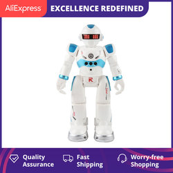 Робот-пульт дистанционного управления, многофункциональный USB зарядка, детская игрушка, RC робот, поет, танец, фигурка, датчик жеста, робот