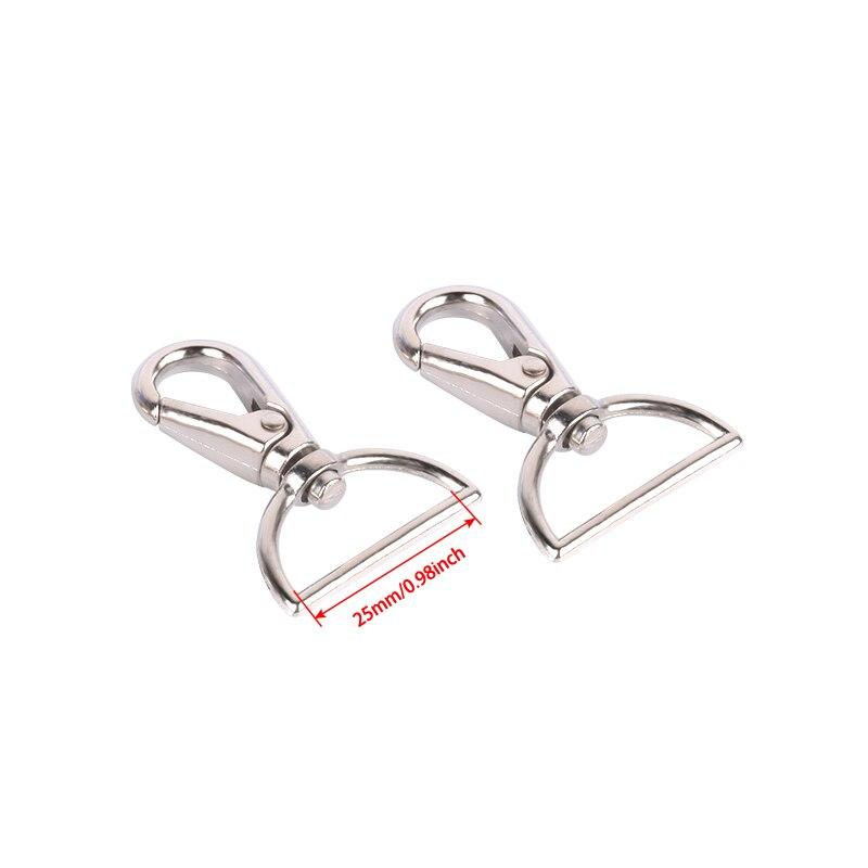 Metal Eye Hook Swivel Clip Trigger Closure For Leather Craft Strap Bag Strap Belt Gold / Silver / Bronze / Metal Gun