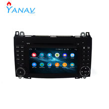 Car radio DVD player 2 Din stereo receiver For BENZ A-B Class W169 W245 Viano 2004-2008 Car GPS navigation multimedia dvd player(China)