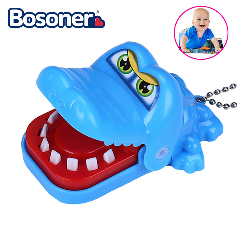 Fashion Mouth Dentist Bite Finger Toy Large Crocodile Pulling Teeth Bar Games Toys Kids Funny Toy For Children Gift For Baby