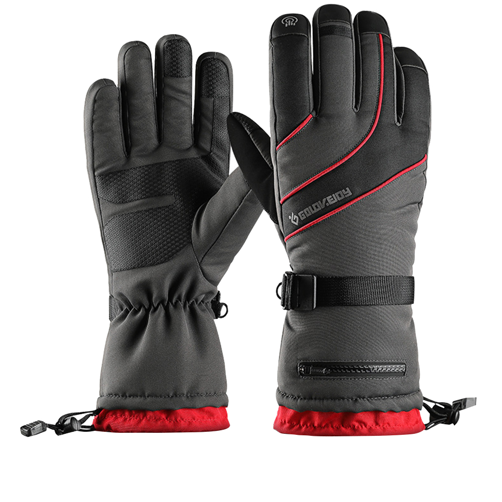 Men Women Waterproof Thermal Winter Gloves Ski Snowboard Touchy Screen Gloves US