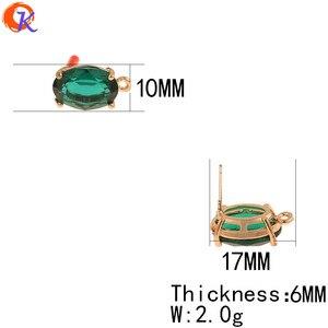 Image 3 - 코디 얼 디자인 30Pcs 10*17MM 쥬얼리 액세서리/손으로 만든/귀걸이 결과/타원형 모양/DIY 쥬얼리 만들기/크리스탈 귀걸이 스터드