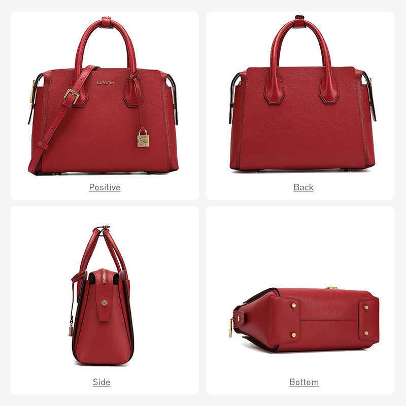 لافيستين العلامة التجارية مصمم المرأة حقيبة 2019 جديد حقيبة يد فاخرة سعة كبيرة حمل حقيبة موضة حقائب كتف متنقلة الإناث