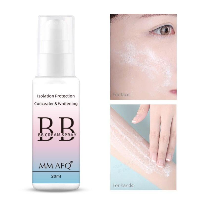 20ml Facial Sunscreen Spray Waterproof Whitening BB Cream Skin Protective Body Sun Screen Moisturizing Daily Sunblock Cosmetics