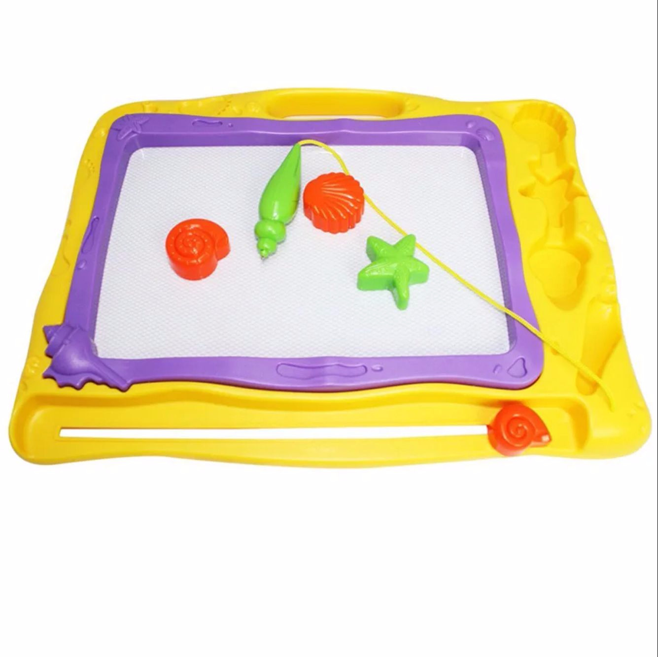 Qiqu Toys 6688a CHILDREN'S Drawing Board Oversized Color Magnetic Drawing Board Children WordPad Baby Toy 3-Year-Old