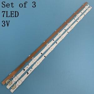 Image 5 - Neue original Kit 3 PCS 7LED 650mm led hintergrundbeleuchtung streifen für samsung UE32H4000 D4GE 320DC0 R3 2014SVS3 2HD 3228 BN96 35208A 30448A