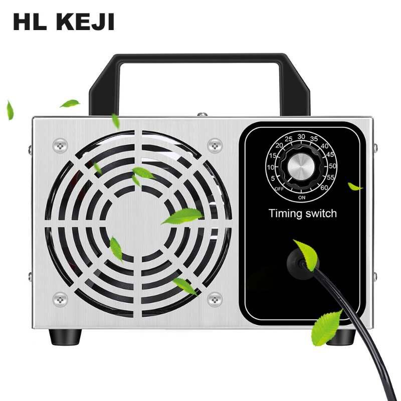 220V Ozone Generator 28g 24g Disinfection Machine Air Filter Purifier Fan For Home Car Formaldehyde Sanitizer With Timing Switch