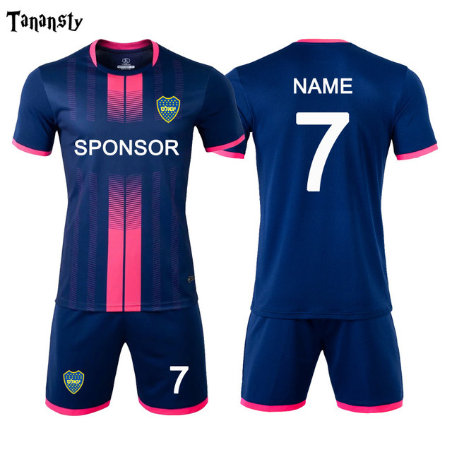 Football Jerseys Soccer Uniform The New Sports Suit for Adult Sports Uniforms Customize Men Training Football Set Print