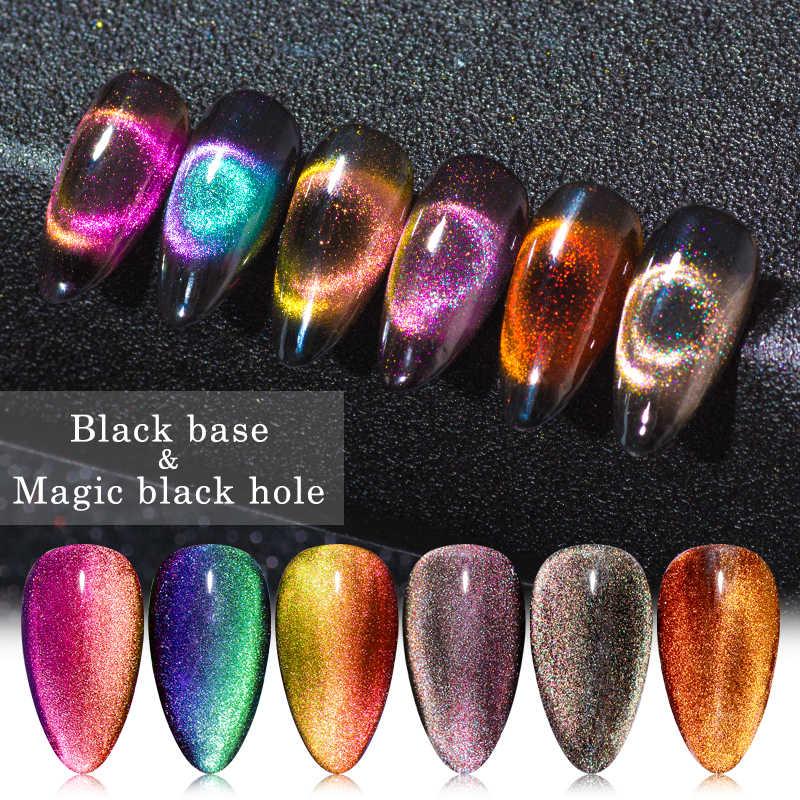 Vier Lelie 9D Galaxy Cat Eye UV Gel Polish Chameleon Magnetische Soak Off Nail Art Gel Lak 5ml Lange blijvende Nail Art Gel Lak