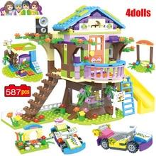 587 pièces blocs de construction pour filles friends Mia Adventure House, pile de briques, Compatible lys, jouets pour enfants, cadeau