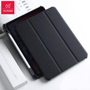 Image 1 - Xundd Flip כיסוי עבור iPad פרו 10.5 אוויר 3 נגד ירידה חכם קייס מגנטי עבור iPad פרו 11 חכם folio עם מחזיק עט עור