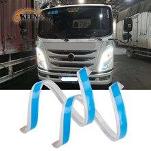 OKEEN 24 В гибкий универсальный грузовик led DRL Дневной ходовой светильник с потоками указатель поворота светильник s для грузовика автомобильный светильник s водонепроницаемый