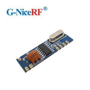 Image 3 - 10 zestawów 433MHz ASK moduł nadawczo odbiorczy zestaw SRX882 + STX882 + antena sprężynowa bezprzewodowy moduł RF 433MHz