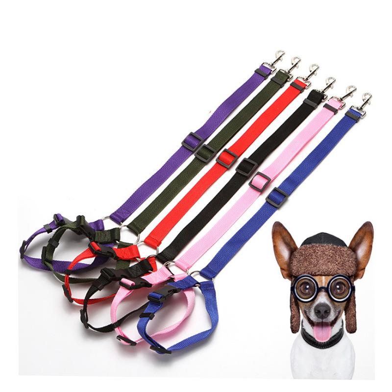 Dog Car Mounted Safety Belt Car Safety Belt For Pet Traction Rope