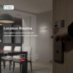 Image 4 - SONOFF BASICZBR3 لتقوم بها بنفسك الذكية زيجبي مفتاح الإضاءة توقيت صغير تتابع وحدة لاسلكية مفتاح بالتحكم عن بعد يعمل مع أليكسا smartthing Hub