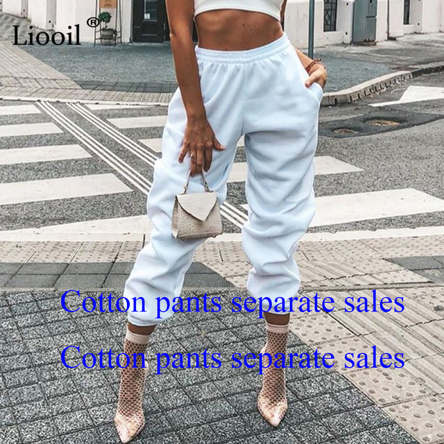 (Set And Pants Are Sold Separately) Tracksuit Women's Sports Suit Sweatshirt And Sweatpants Jogging Femme 2 Pieces Set Sweatsuit 4