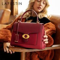 LAFESTIN Angel Eye Series 2019 new leather bag for women fashion high character handbag large capacity shoulder messenger bag