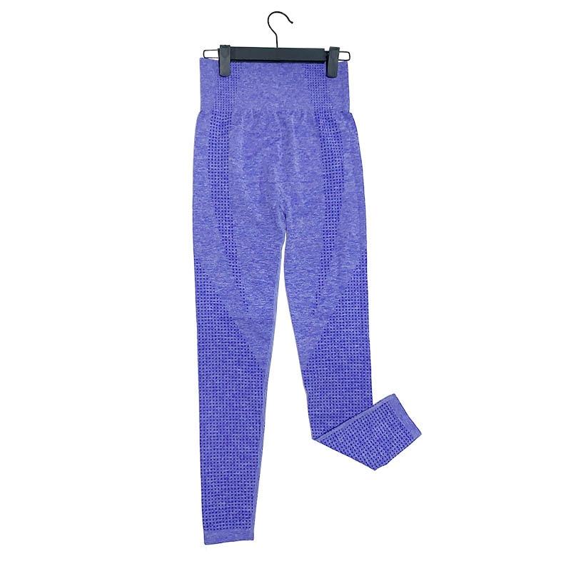 Kaminsky 14 Colors High Waist Seamless Leggings For Women Solid Push Up Leggins Athletic Sweat Pants Sportswear Fitness Leggings 12