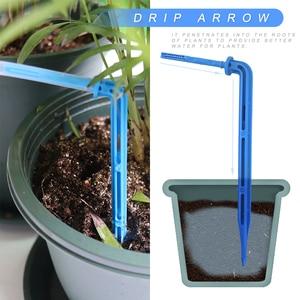 Image 5 - אינטליגנטי גן השקיה אוטומטית מכשיר בשרניים צמח בטפטוף השקיה כלי מים משאבת טיימר מערכת בקר בטפטוף חץ