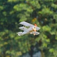 RC модель Sopwith верблюд биплан самолет истребитель комплект 380 мм размах крыльев balsa древесины лазерной резки DIY самолет разобранные строительные детали