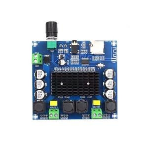 Image 3 - 2*100W Bluetooth 5.0 ses amplifikatörü kurulu TDA7498 güç dijital Stereo alıcı AMP hoparlörler ev sineması Diy