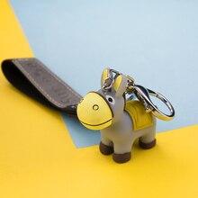 kawaii donkey doll keychain…