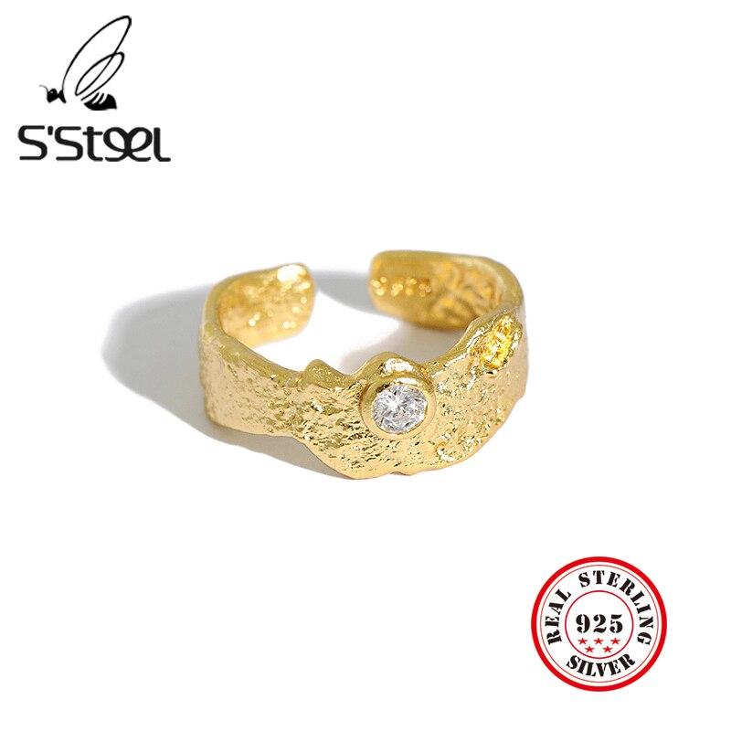 Купить женское кольцо с цирконием серебряное регулируемое ювелирное