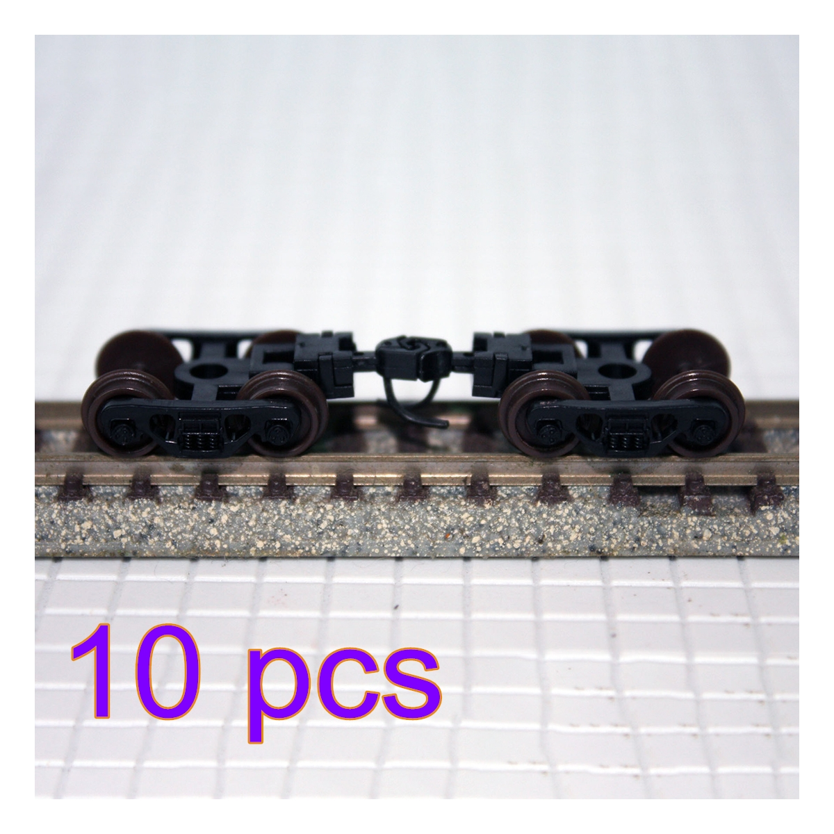 1pcs/2pcs/5pcs/10pcs 1:160 Train Bogie Model Train Wheel Bogie Set For N-Scale Train Model Ho Scale Model Train Accessories