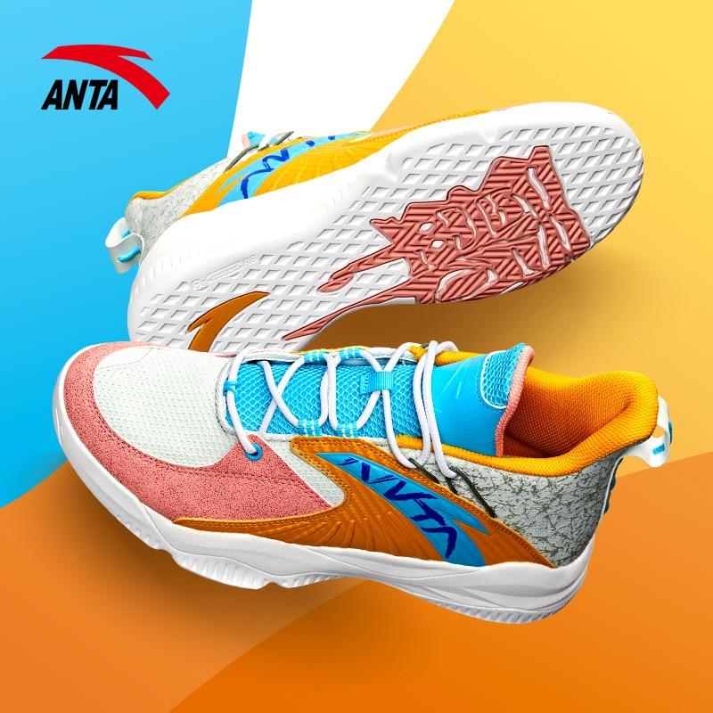Anta баскетбольные кроссовки, мужская обувь, 2020 г. Новинка Томпсон KT износостойкие низкие повседневные дышащие кроссовки|Обувь для баскетбола|   | АлиЭкспресс
