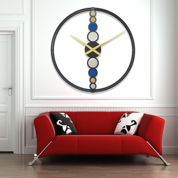 Nordic clock creative clock modern wall clock living room light luxury hanging table wall time decoration wall hanging CL33104