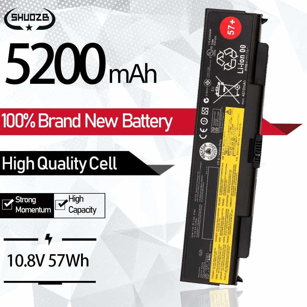 Nuova Batteria Del Computer Portatile per Lenovo ThinkPad T440P T540P W540 W541 L440 L540 45N1144 45N1145 45N1148 45N1159 45N1158 45N1160 57 + 6cell