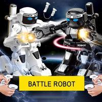 Boxeo Vs. Robot Control remoto lucha Robot inteligente 2 4G múltiples juguetes de lucha juguetes interactivos para padres e hijos