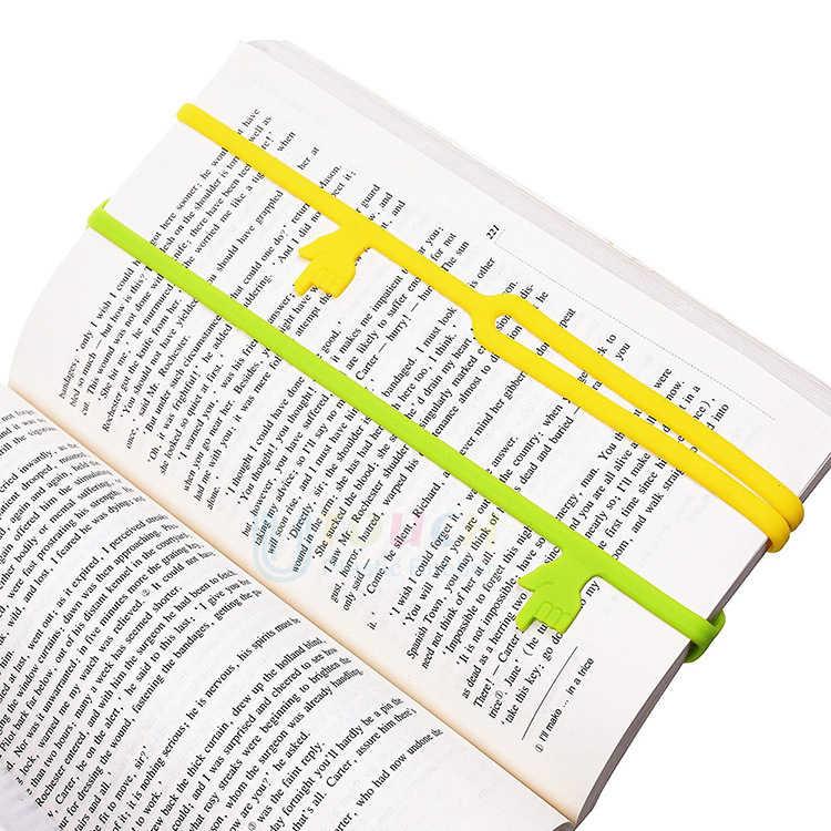 Heißer Verkauf Neue Nette Silikon Finger Zeigt Lesezeichen Buch Mark Büro Liefern Lustige Geschenk Lesezeichen Lehrer Geschenke Drop Verschiffen