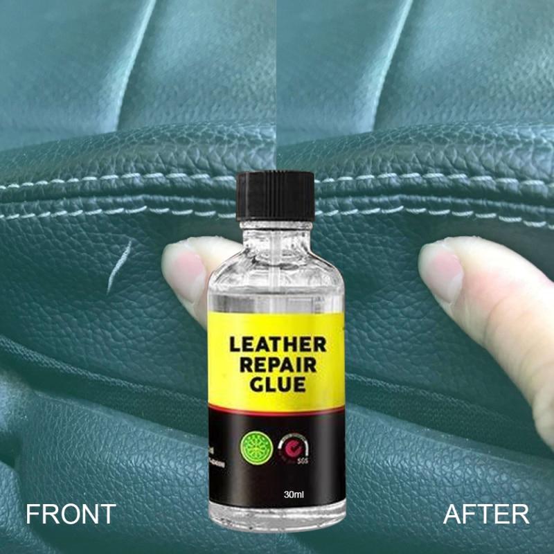 50 мл клей для ремонта кожи прозрачный кожаный агент для ремонта куртки дивана Стабильный Прочный клей для ремонта кожи сидений автомобиля