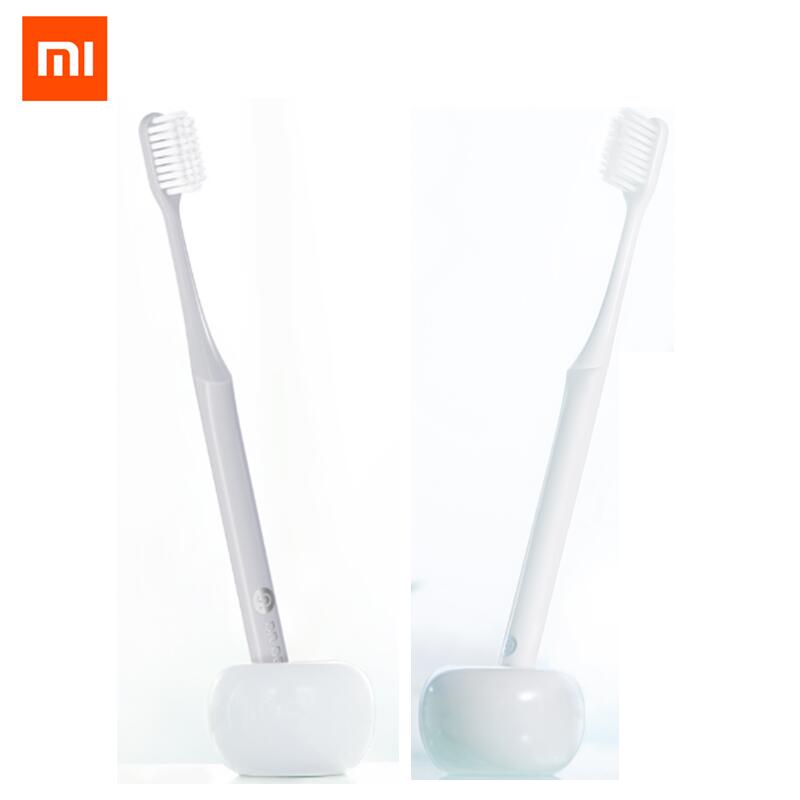 4pcs /lot Original Xiaomi Mijia Doctor B Youth version BET Toothbrush Comfortable Soft Grey & White to Choose Dental Care Soocas image