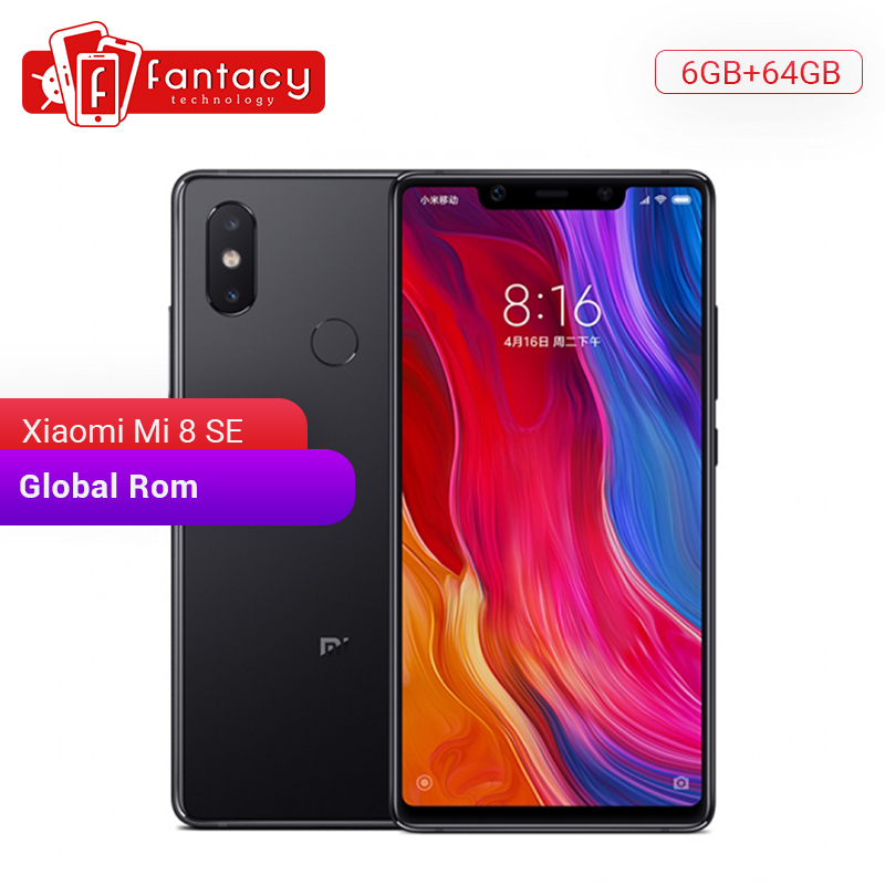 <font><b>Global</b></font> Rom Xiaomi <font><b>Mi</b></font> 8 <font><b>SE</b></font> 6GB 64GB Snapdragon 710 Octa Core 5.88