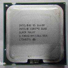 Intel Core 2 Quad Q6600 2.4 GHz Quad-Core CPU Processor 8M 95W 1066 LGA 775 Intel Core 2 Quad Q6600 2.4 GHz Quad-Core CPU Proce