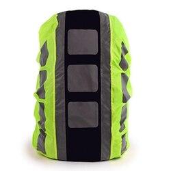 Plecak pokrowiec przeciwdeszczowy torba na zewnątrz wodoodporna pokrywa plecak pokrowiec przeciwdeszczowy wysoka widoczność torba odblaskowa duża