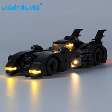 цена на Lightaling Led Light Kit For 1989 Batmobile Limited Edition Toys Building Blocks Compatible With 40433 ( Lighting Set Only )