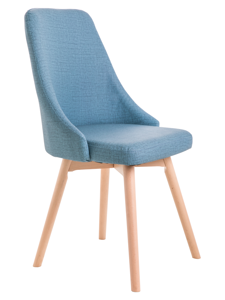 Nordic modern minimalist chair home leisure solid wood dining  back desk  fabric negotiation