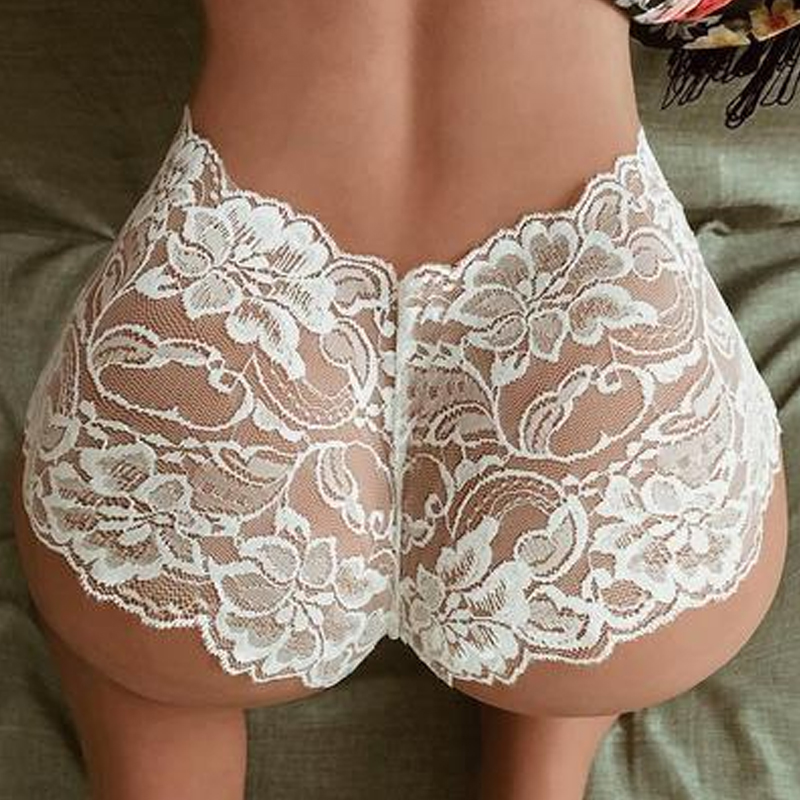 Hot Women's Sexy Lace Hollowed Out Emotional Low Waist Panties Breathable Sexy Panties Ladies Large Size