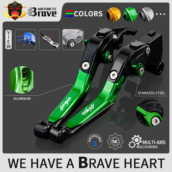 For KAWASAKI NINJA 250R NINJA250R 250 R 2008 2009 2010 2011 2012 Accessories Motorcycle Folding Extendable Brake Clutch Levers