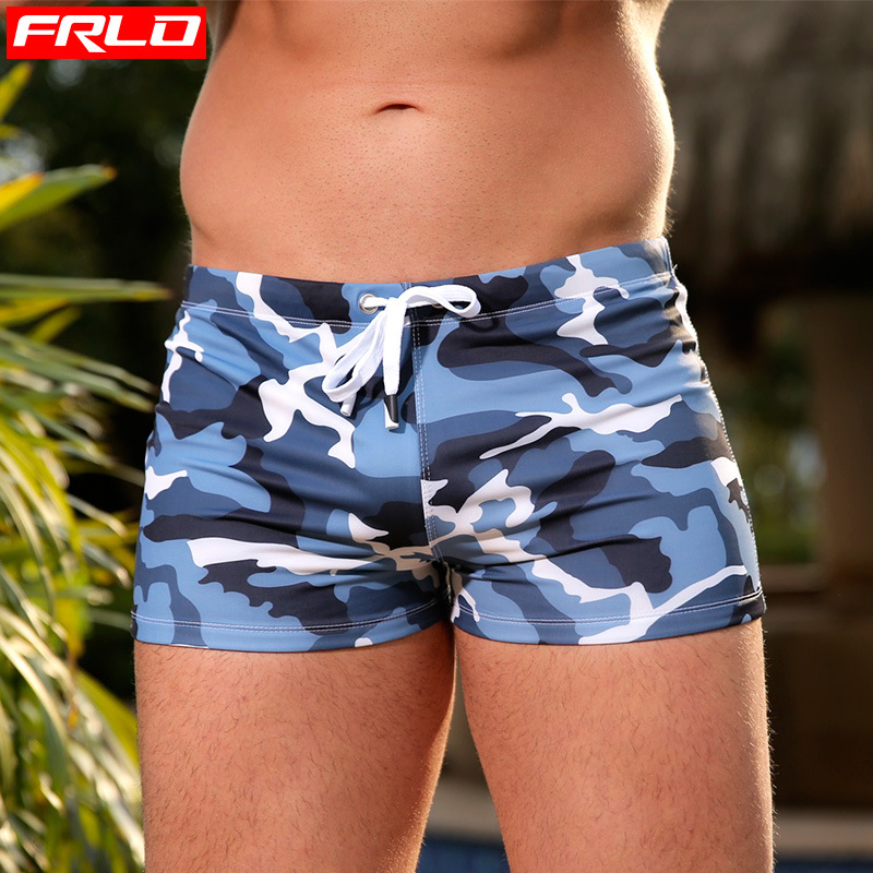 Swimwear Men's Swimsuits Swimming Trunks Sexy Gay Bikini Beachwear Push Pad Boxer Briefs Board Shorts Sunga Maillot De Bain 3xl