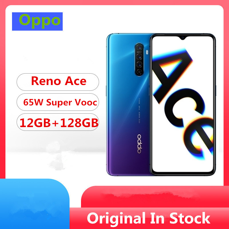 "DHL Fast Delivery Oppo Reno Ace Cell Phone Snapdragon 855 Plus Android 9.0 6.5"" 90HZ 12GB RAM 128GB ROM 48.0MP 65W Super VOOC(China)"