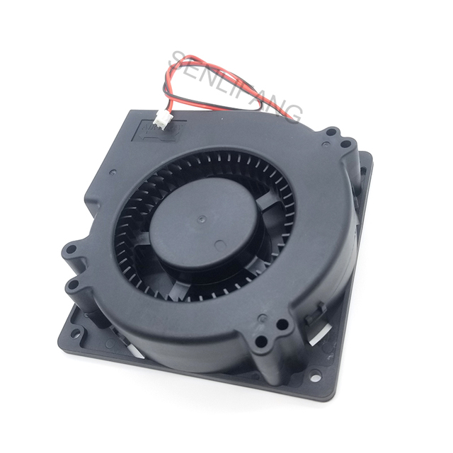Tout neuf pour 24V 0.3A 109BF24HA2 ventilateur centrifuge 2 fils 120*120*32mm