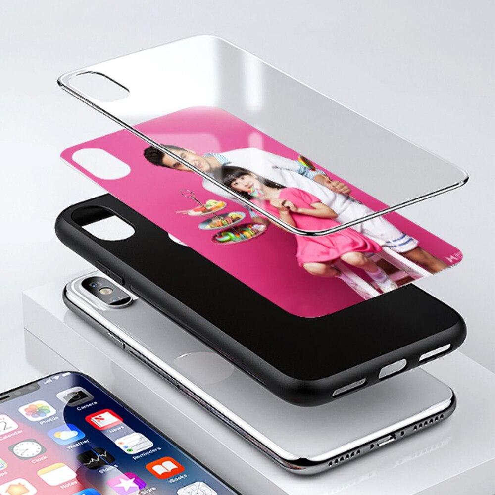 Kaca Tempered Kustom Penutup Telepon Untuk Iphone 12 Mini X R 11 Pro Max Wallpaper Cantik Diy Phone Case Untuk Iphone 7 8 6 S Plus Kasus Telepon Penutup Aliexpress