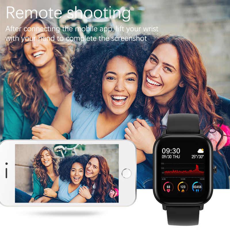 Lige 2020 Astuto Della Vigilanza di Sport Delle Donne di Fitness Tracker IPX7 Impermeabile Led Full Touch Screen Adatto per Android Ios Smartwatch Uomini
